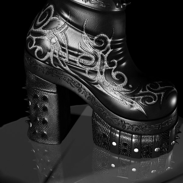 warrior boots designed 3ds