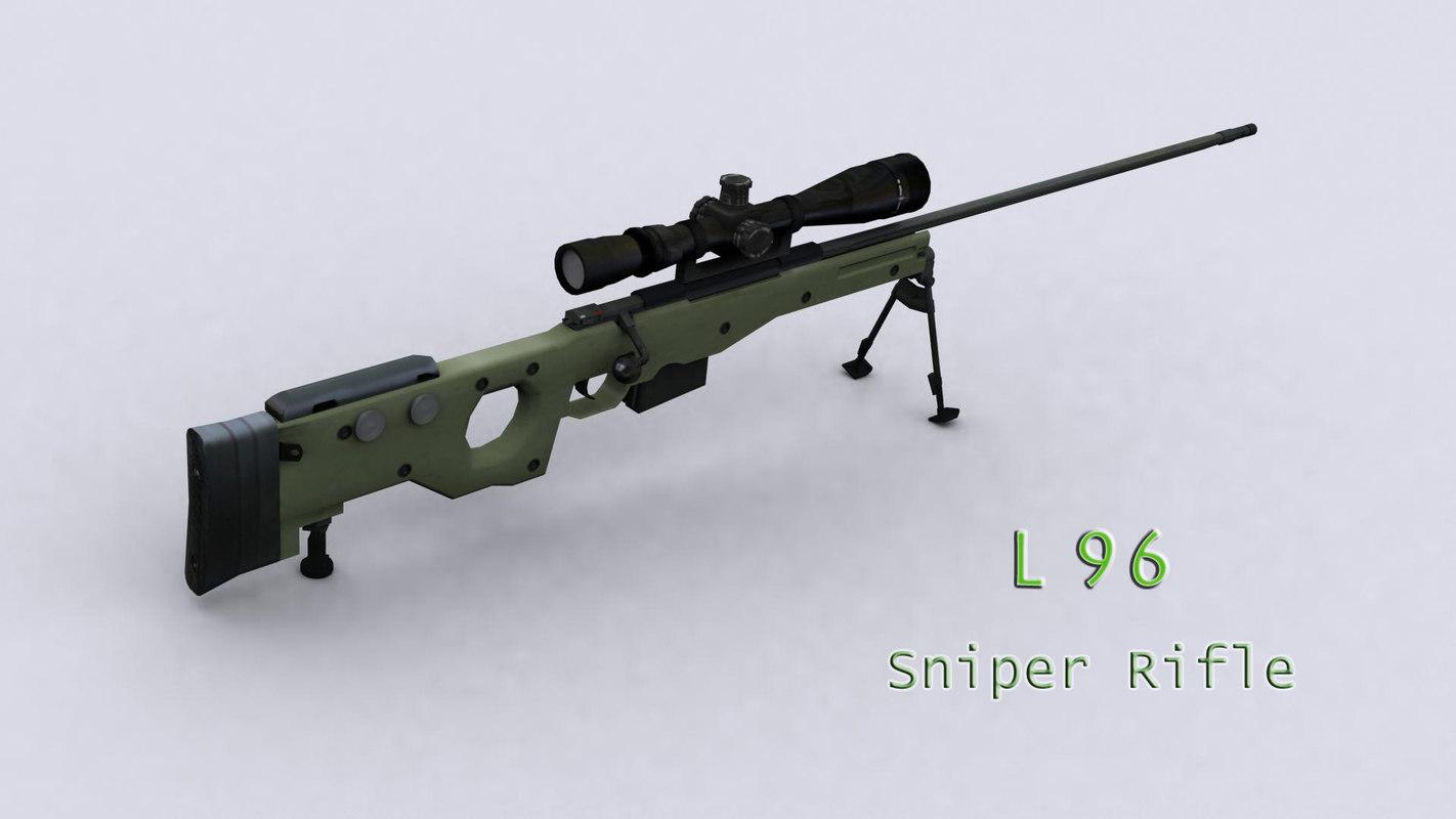 l96 sniper rifle 3ds