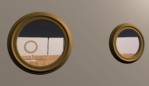 3d model fabricating portholes