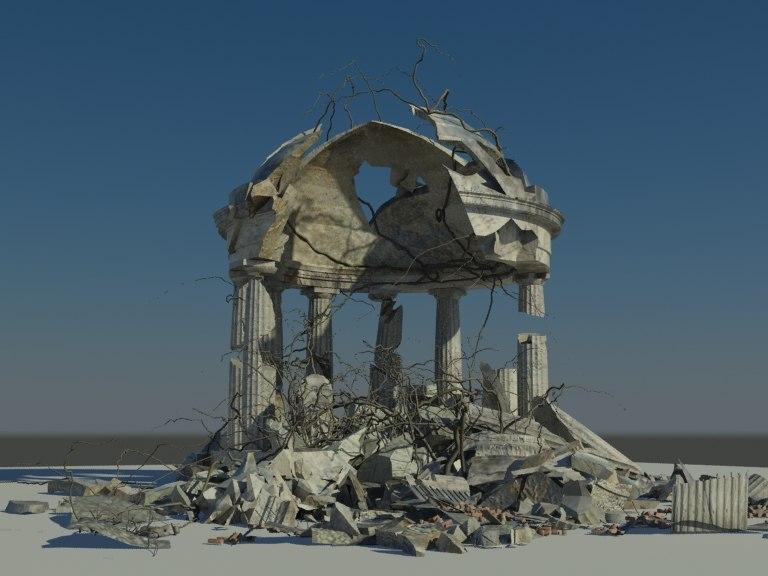 maya ruined memorial