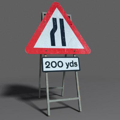 3d road sign coz100907477