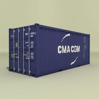 20 ft cargo container