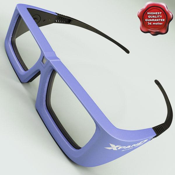 c4d glasses xpand