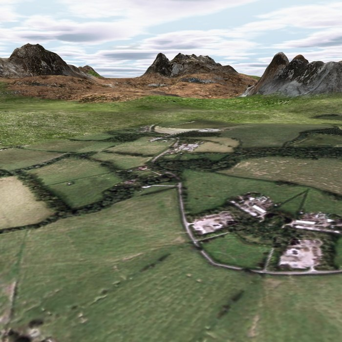 terrain landscape mountains 3d 3ds