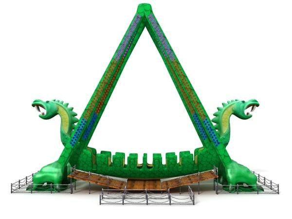 3d dragon swing