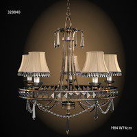 FINE ART LAMPS 328840 classit traditional chandelier  crystal  bronze ceiling lamp pendant suspension