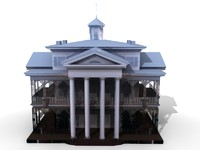 haunted mansion 3d model