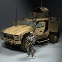 JLTV Army Soldier