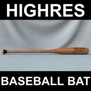 baseball bat 3ds