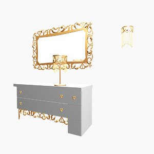 colection chest drawers 3d 3ds