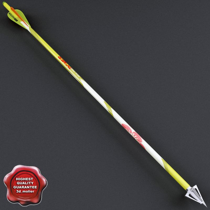 3ds max sport arrow