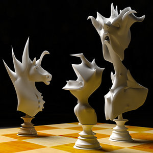 3d max chess set