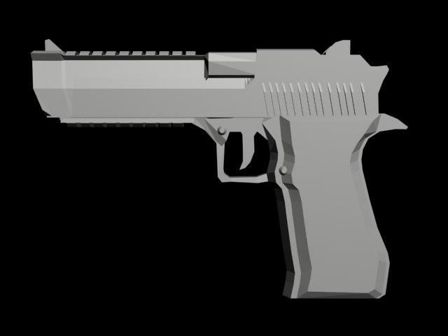 maya desert eagle pistol