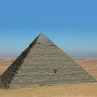 pyramid khafre 3d model
