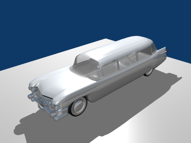 cadillac miller meteor 3d 3ds