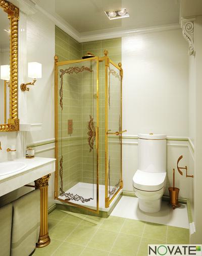 rendering classic bathroom 3d model