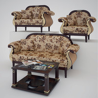 3ds max sofa armchairs