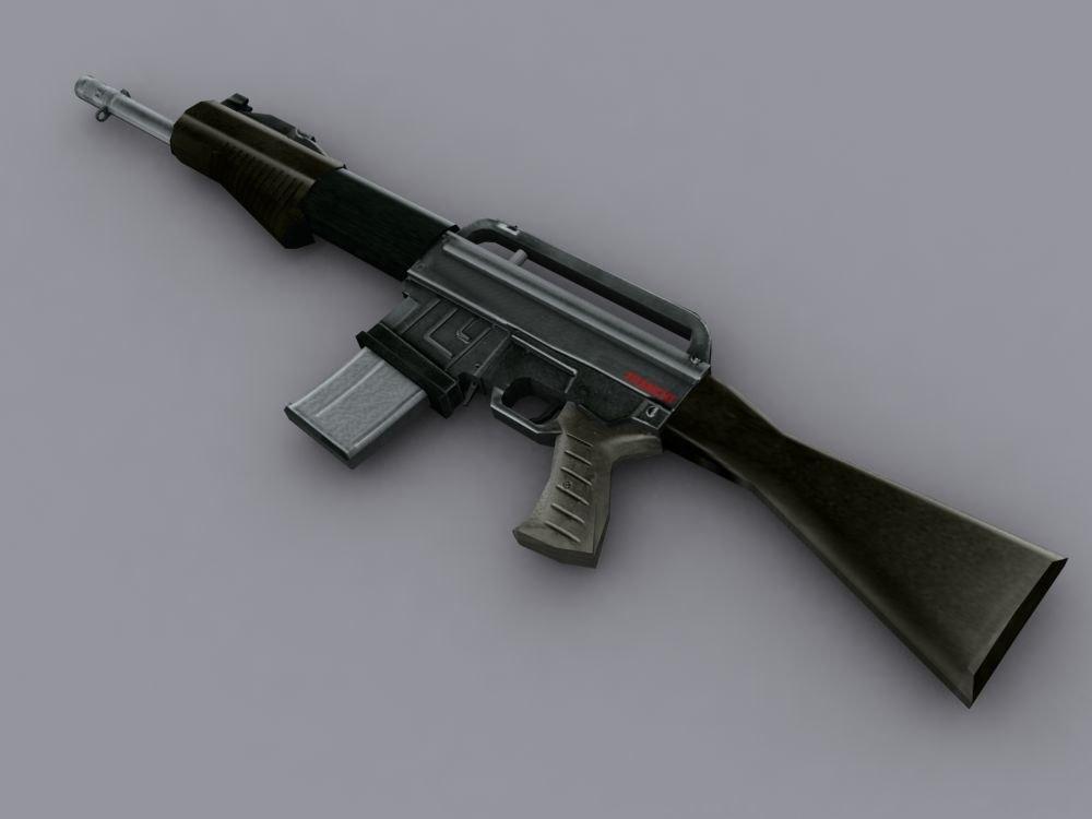 3d shotgun spas15 rifle model