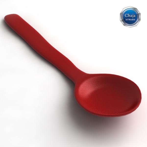 teaspoon spoon tea 3d max