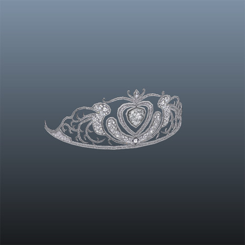 3d model tiara crown