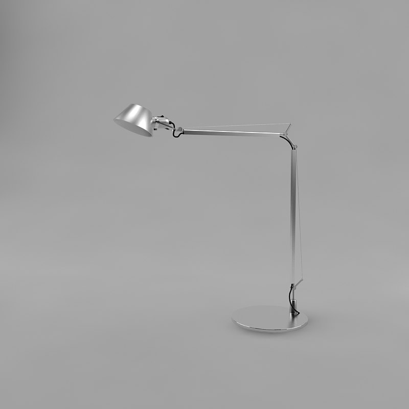 3d model lamp tolomeo artemide
