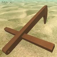 anchor agan michael 3d 3ds