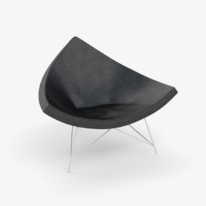 coconut chair 3d max
