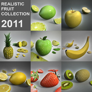 3d model fruit 2011