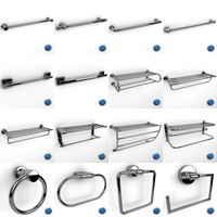 3d max towel racks