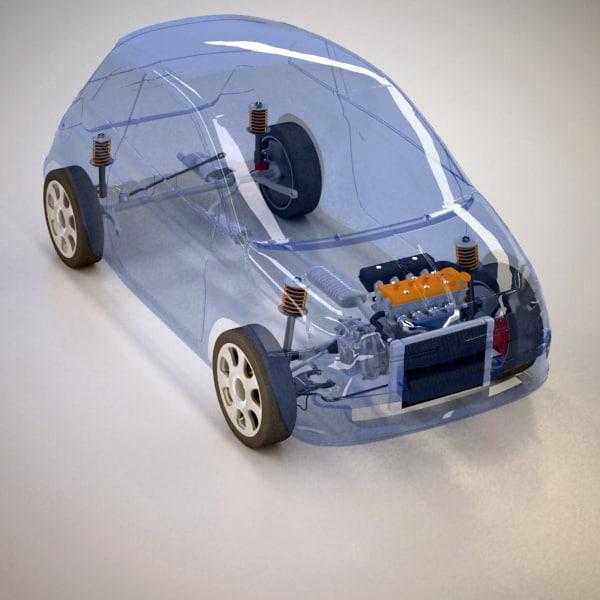max wheel drive suspension