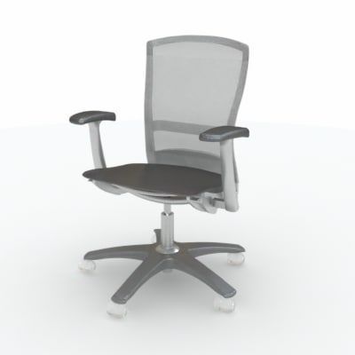 3d knoll life chair