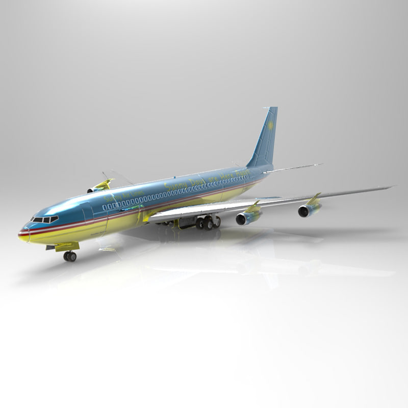 obj 707 aircraft transport