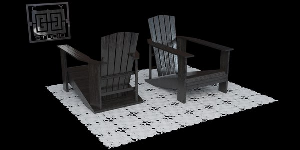 3ds max chair originally