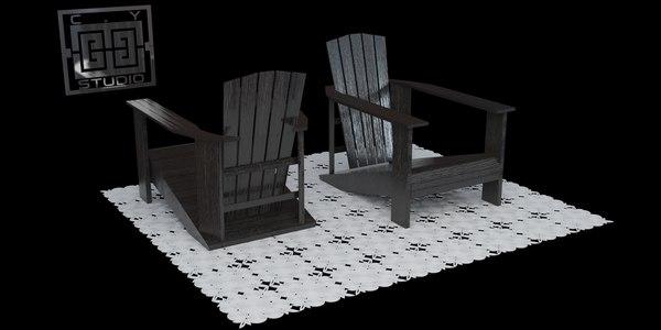 3ds max chair originally