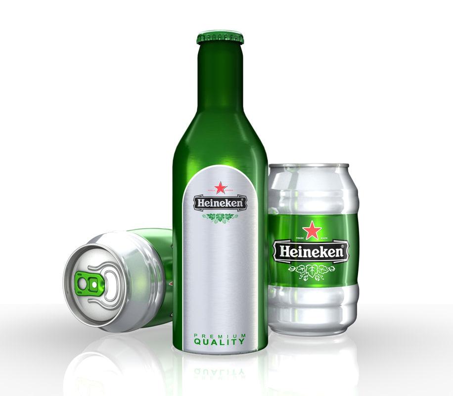 3d model alu bottle