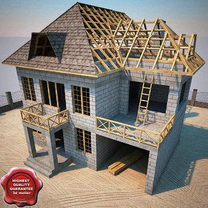 3d house construction