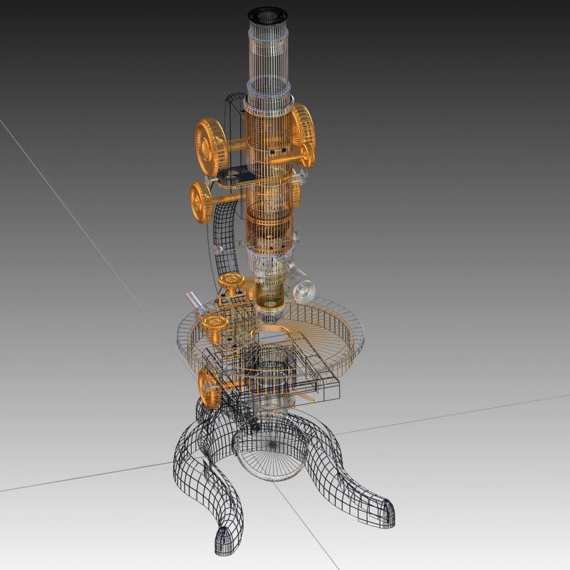 leitz microscope 3d max