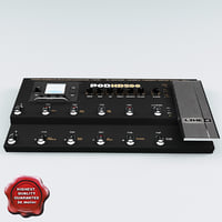 3d multi effects guitar line6 model