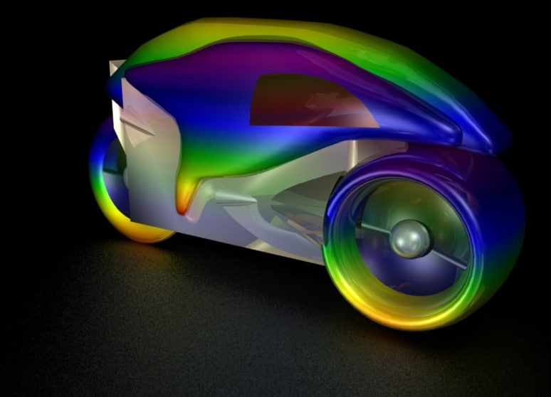 3d light cycle model