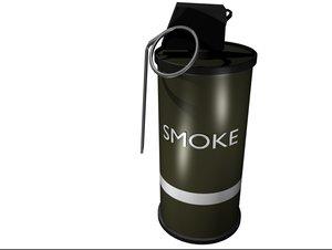 smoke grenade blend free