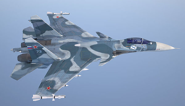 3d model russian fighter