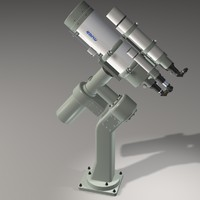 takahashi c400 telescope scope 3d max