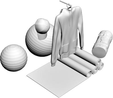 3d sport ball