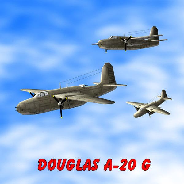 bomber fighter 3d model