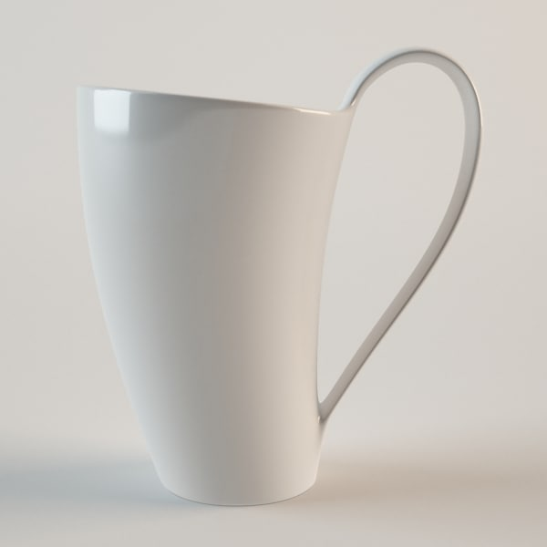 cup attom 3d model