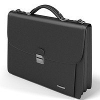 buisness man bag modern briefcase portfolio