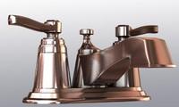 3d model moen faucet