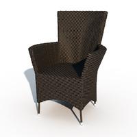 garden chairs 3d max