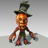 Pumpkin Jack (lowpoly)