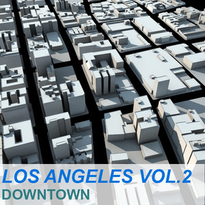 3d model vol2 los angeles city downtown